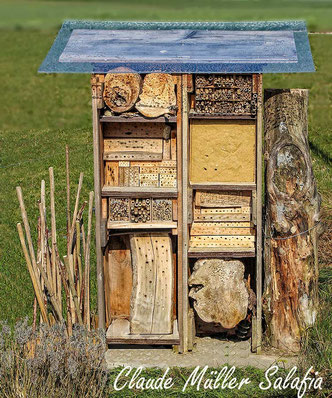 Nisthilfen Insektennisthilfen Insektenhotel insect nesting aid insect hotel mason bee