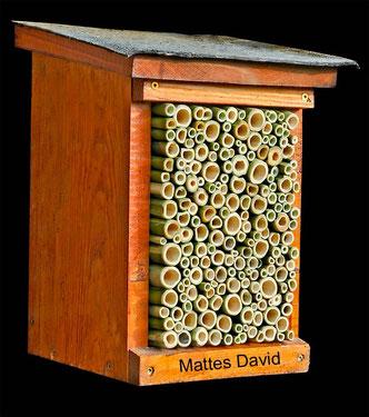 Insektennisthilfe Insektenhotel Nisthilfe Bambus insect nesting aid insect hotel mason bee bamboo