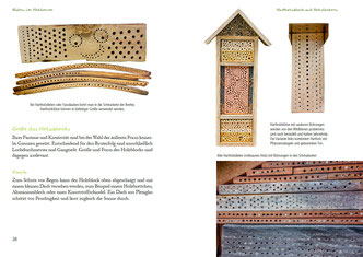 Fertig zum Einzug Nisthilfen für Wildbienen pala-Verlag Insektenhotel