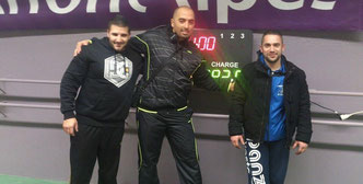 Quentin, Nour-Eddine, et Jeremy