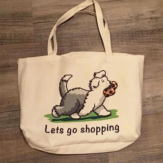 img-disegno-drawing-cane-dog-bobtail-borsa-shopping-shopper