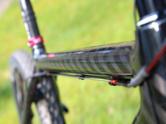 Customize bike carbon