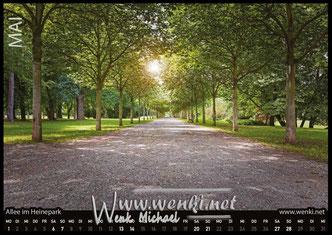 Der Rudolstadt Kalender, das perfekte Geschenk. Damit bleibt man das ganze Jahr in Erinnerung. Im Heinepark unterwegs.