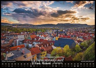 Rudolstadt-Kalender-Thüringen-Heidecksburg-Heimat-Saale-Geschenke-Geschenk