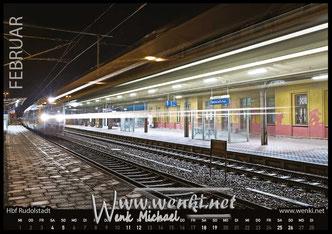 Der Rudolstadt Kalender, das perfekte Geschenk. Damit bleibt man das ganze Jahr in Erinnerung. Bahnhof Rudolstadt