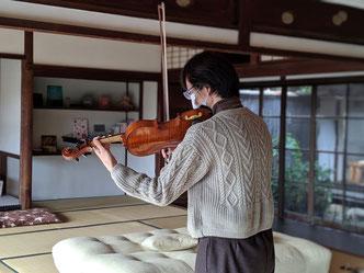 セラビィでバイオリンが聴けるなんて🎵