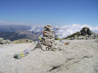 Affiliate, Sponsoring, Korsika, Gipfel