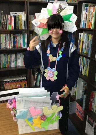小学校の職場体験で最終日に小学生達からプレゼントをたくさんもらいました!