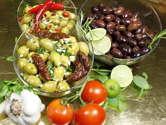 Oliven Varianten Aylina Delikatessen