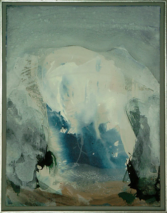Blau-Macht-Spaß - Acryl auf Leinwand, 2000 (70x55)