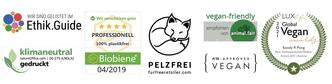 Fur Free Retailer PETA animal.fair Sandy P.Peng Shop