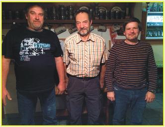 Ludwig Krempl, Josef Malinowski und Michael Schötz.