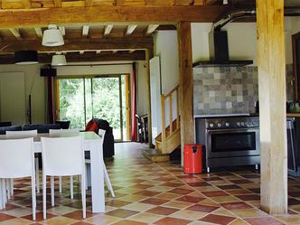 chateau terre vieille accueil pecharmant vin wine perigord morand monteil sechoir a tabac cuisine