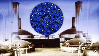 Sylvie Lander-peinture-artiste-Cronenbourg-mémoire-quartier-Strasbourg-brasserie Kronenbourg- #SylvieLander