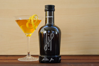 lapsang souchong, gin, martini