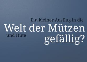 Lexikon Mützen und Hüte