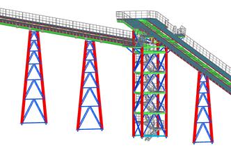 Rohrbrücken RWE