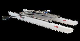 XCAT ROWMotion | Skullrudern aufgebaut