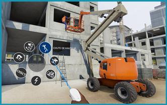 Réalité Virtuelle/ Réalité Augmentée - secteur travaux publics