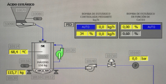 Operator Control Screen