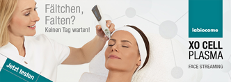 XO Cell Plasma Streaming von La Biocome bei Cosmetic Heidi Schwaiger in Salzburg