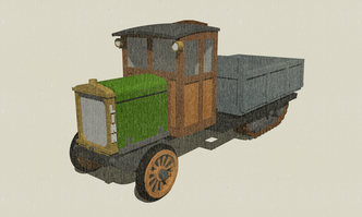 Linn Tractor N-Scale