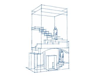 Escalier du chateau