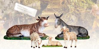 Statue animali presepe vendita
