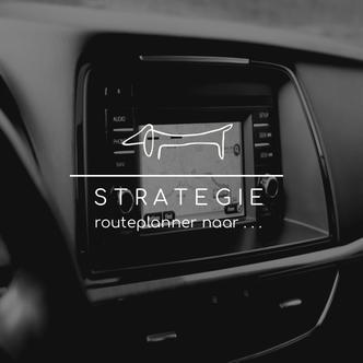 Strategie: routeplanner naar . . .