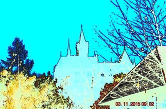 Silhouette von Schloss Wernigerode