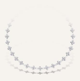 "High Jewelry Collier ""Adore"" - 100% Swiss handmade"