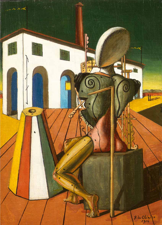 """Giorgio De Chirico, """"Il trovatore"""" (1916)"""