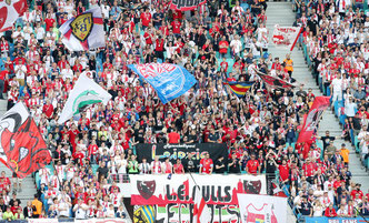 RB-Leipzig Fans in der Red Bull Arena