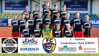 FC Grimma C-Junioren / Foto: K. Hannover