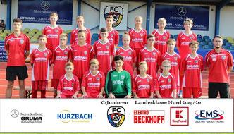 U15 der Saison 2019/2020 (C) Karsten Hannover