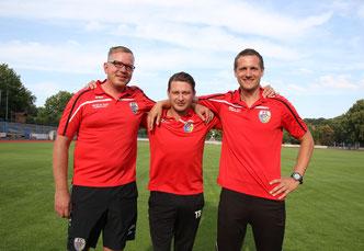 Trainer- und Betreuerstab 2018/2019; Foto: K. Hannover
