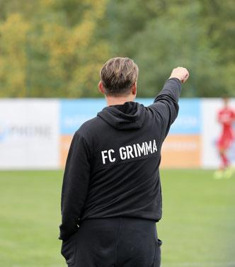 Blick nach vorn gerichtet: Cheftrainer Alexander Kunert