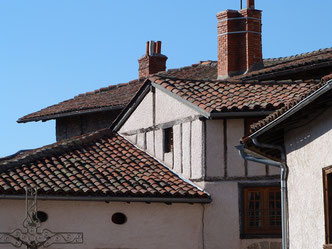 Les toits, Place du Pilori