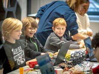 Auftaktveranstaltung zur Code Week 2019 (Foto: Sandra Schink)