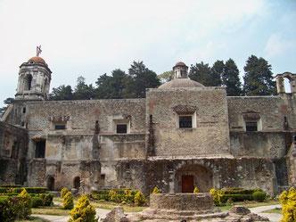 Vista del ex convento