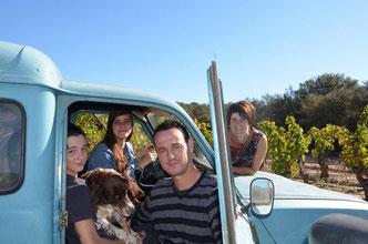 gite en vignoble à Castelnau d'Aude