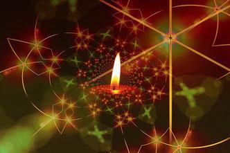 Advent, Weihnachten, 1 Kerze