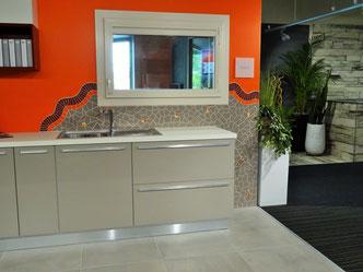Crédence de cuisine en mosaïque - Travaux confort, décoration d'intérieur