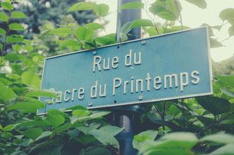 Rie du Sacre du Printemps, Clarens / Schweiz (Foto: Barnimages, lizenzfrei)