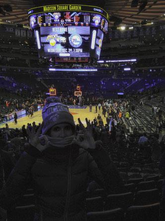 Fede nel Madison Square Garden!