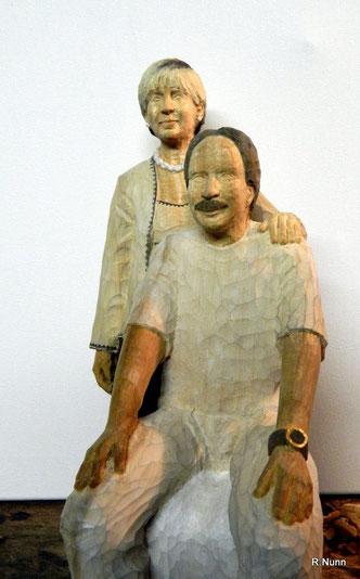 """Portrait Figuren - """"Der Zahnarzt und seine Frau"""""""