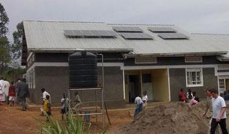 Spende für Solaranlagen