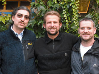 Unser Team: Jörg Schmidt, Steffen Thomas, Alexander Schmalfuß (v.l.n.r.)