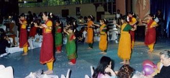 Diwali en Florida Park con alumnas del Geeta Ashram