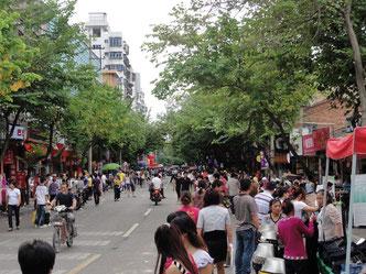 Zhongshan Straße in Tongan, Xiamen